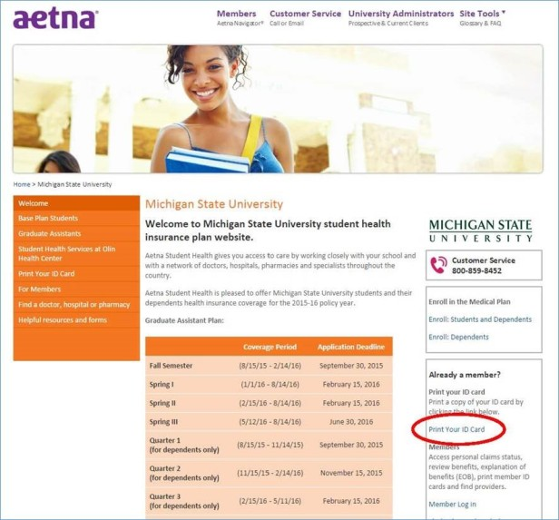 aetna screen shot 1