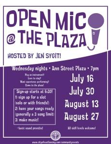 open mic flyer 2014