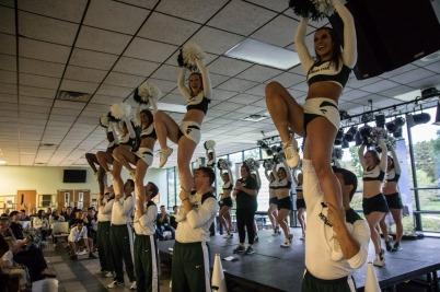MSU Cheerleader