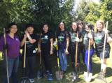 MSU International Students Served Local Community at MSU Global Day of Service